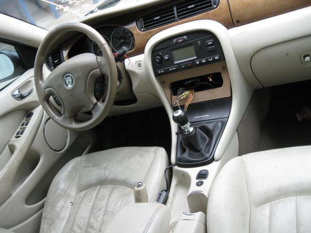 Interior Rear View Mirror Jaguar S Type X Type 2002 02 03 04 05 06 07 08 419640 Black