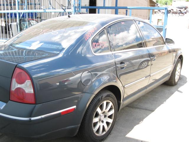 Front Interior Door Trim Panel 2001 01 VW Passat