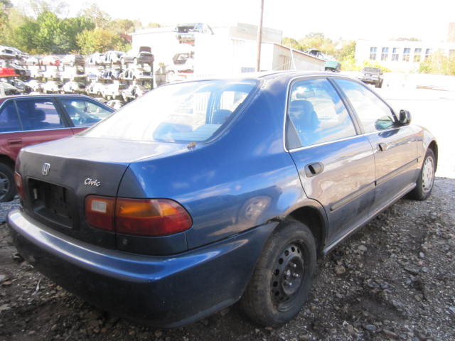 Parting Out 1995 Honda Civic U2013 Stock # 110509. This ...
