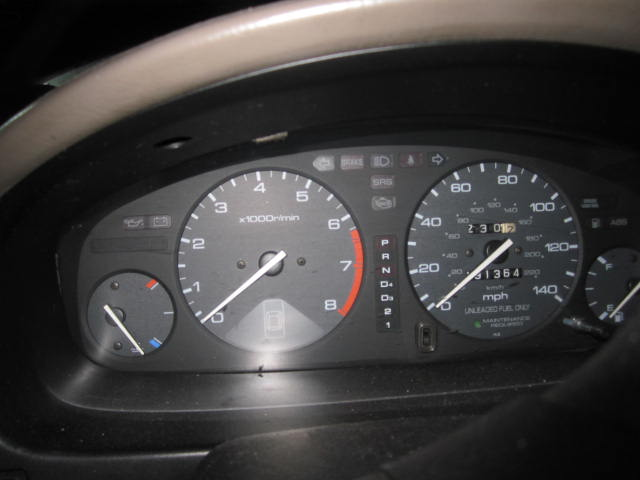 Honda speedometer malfunction