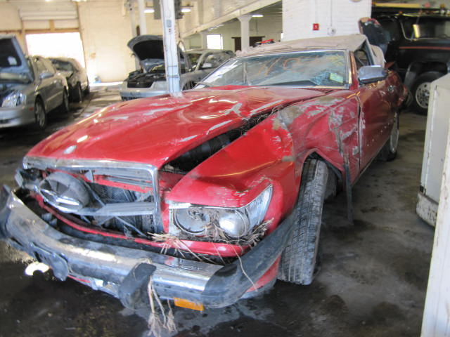 parting out 1987 mercedes 560sl stock 110563 tom 39 s