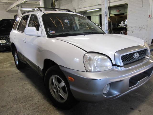 This Is A 2002 Hyundai Santa Fe For Parts.