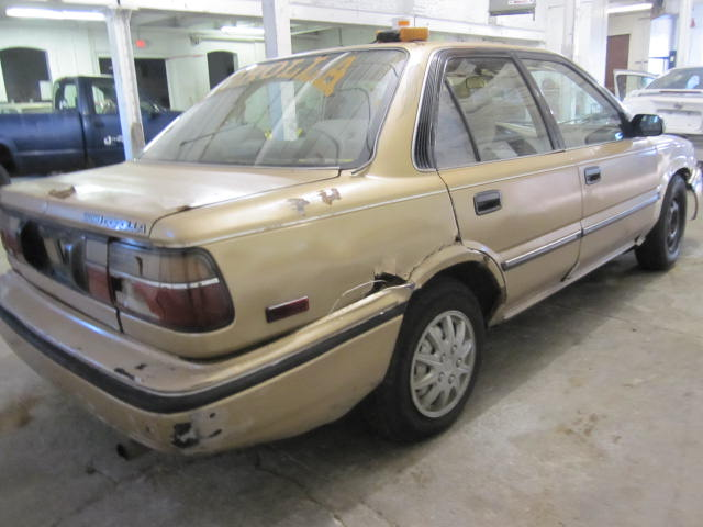 parting out 1990 toyota corolla stock 110637 tom 39 s. Black Bedroom Furniture Sets. Home Design Ideas