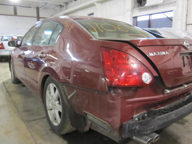 parting out 2004 nissan maxima stock 110658 tom 39 s foreign auto parts quality used auto parts. Black Bedroom Furniture Sets. Home Design Ideas