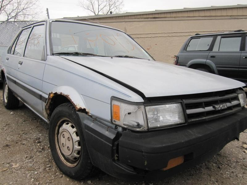 parting out 1986 toyota corolla stock 120136 tom s