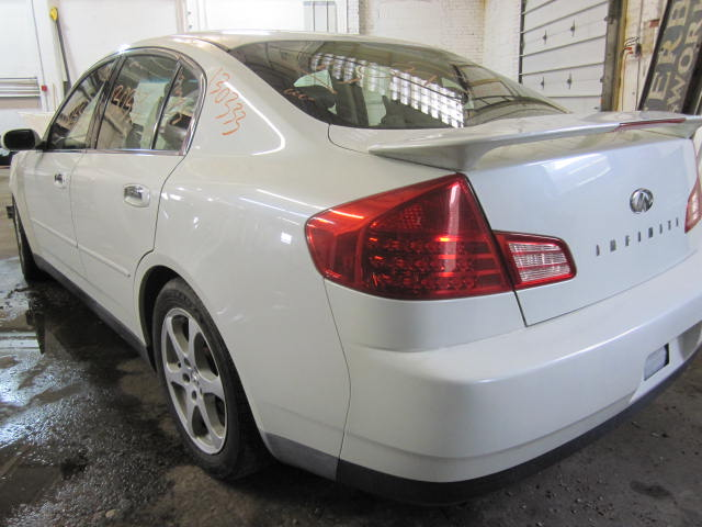 parting out 2004 infiniti g35 stock 130333 tom 39 s foreign auto parts quality used auto parts. Black Bedroom Furniture Sets. Home Design Ideas