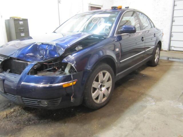 Front Interior Door Trim Panel Volkswagen Passat 2002 02 Right Leather