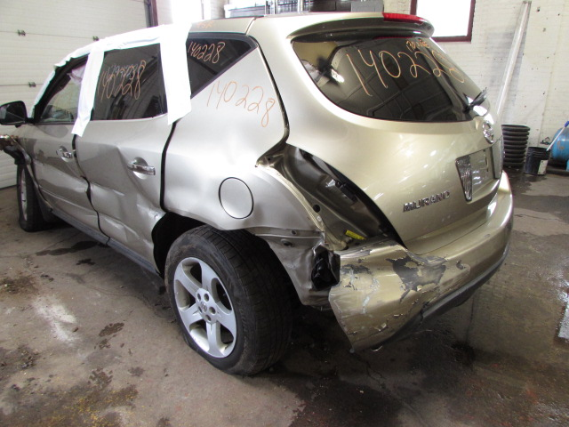 parting out 2005 nissan murano stock 140228 tom 39 s foreign auto parts quality used auto parts. Black Bedroom Furniture Sets. Home Design Ideas