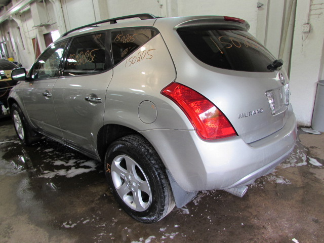 parting out 2004 nissan murano stock 150205 tom 39 s foreign auto parts quality used auto parts. Black Bedroom Furniture Sets. Home Design Ideas