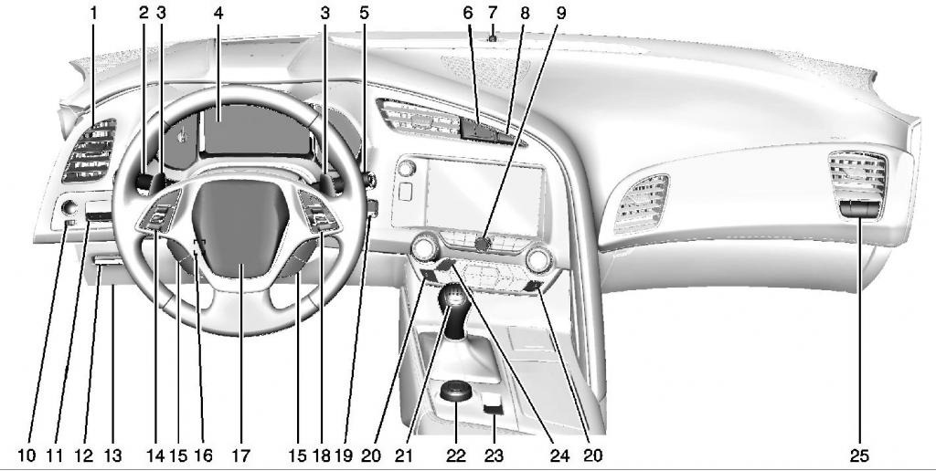 2014 Corvette C7 Drawings Revealed – Tom\'s Foreign Auto Parts ...
