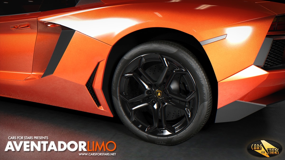 Will The Lamborghini Aventador Be Turned In A Stretch Limo Tom S