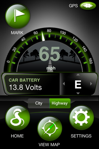 cobra iradar for iphone and ipod available in the app store