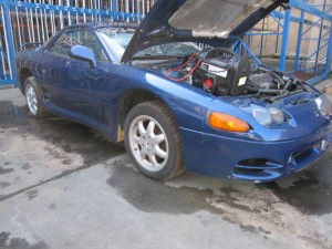 Parting out a 3000GT non turbo