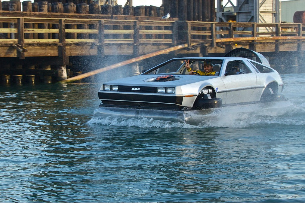 Back To The Future Comes Life With This Flying DeLorean W Video