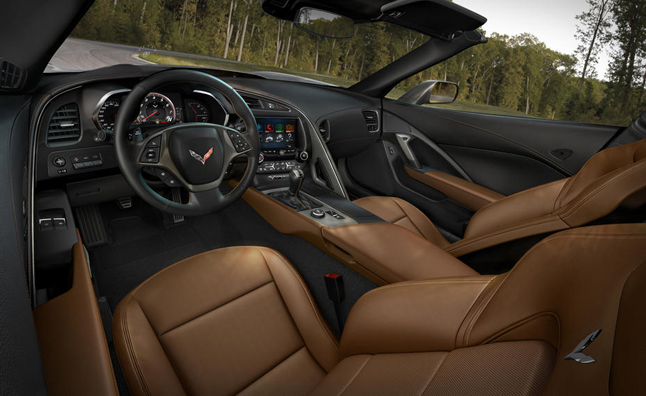 chevy corvette interior