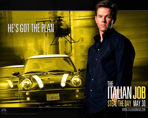Iconic Movie Cars The Italian Job 2003 Mini Cooper Toms