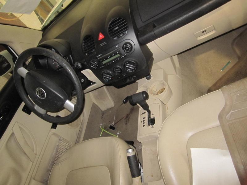 Front Interior Door Trim Panel Volkswagen Beetle 2005 05 Right Leather 643895