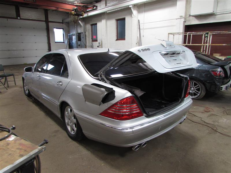 Parting out 2002 mercedes s500 stock 160422 tom 39 s for Mercedes benz s500 parts