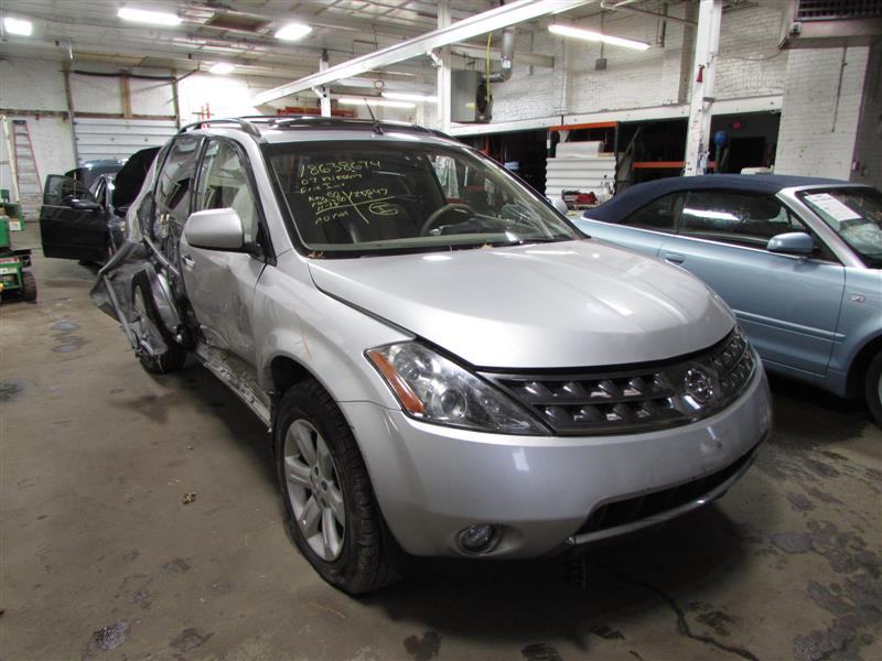 Parting Out 2007 Nissan Murano U2013 Stock # 160431