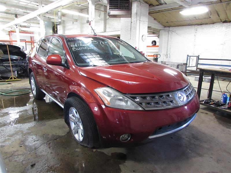 parting out 2006 nissan murano stock 170165 tom 39 s foreign auto parts quality used auto parts. Black Bedroom Furniture Sets. Home Design Ideas