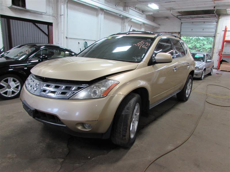 parting out 2003 nissan murano stock 170298 tom 39 s foreign auto parts quality used auto parts. Black Bedroom Furniture Sets. Home Design Ideas