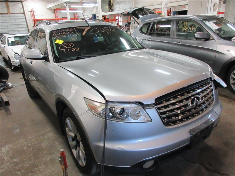 parting out 2003 infiniti fx35 stock 170450 tom 39 s foreign auto parts quality used auto parts. Black Bedroom Furniture Sets. Home Design Ideas