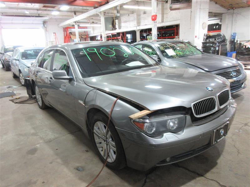 Parting Out 2002 Bmw 745i - Stock   190200