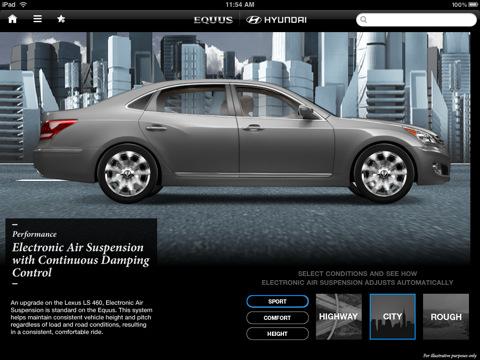 Hyundai Equus owners manual app