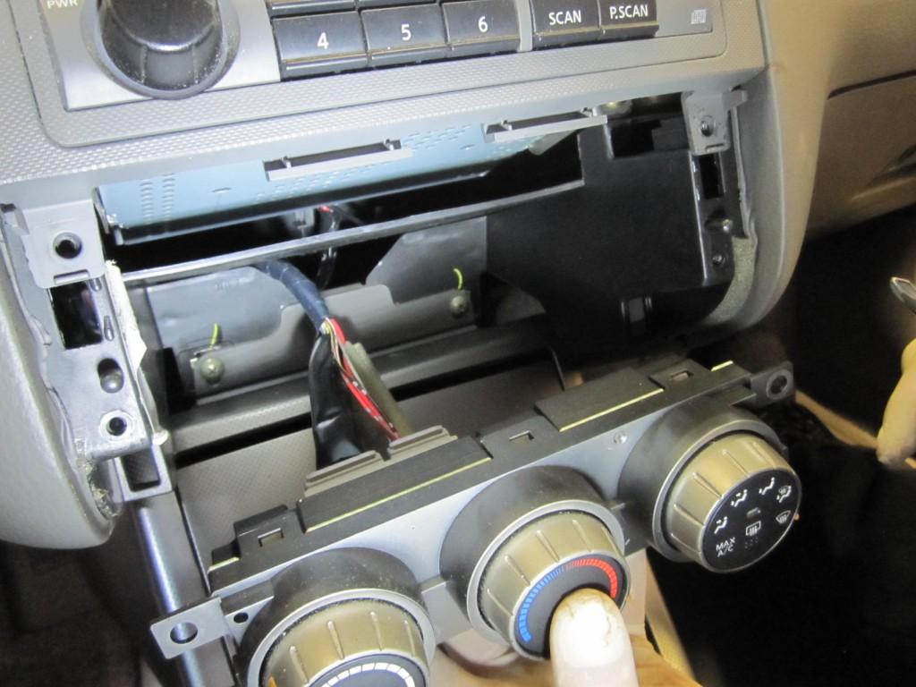05-06 Altima Temperature Control Removed